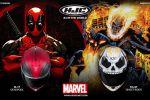 HJC présente deux nouvelles décos - IS-17 Deadpool et le FG-ST Ghost Rider