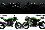 Kawasaki : arrivées de deux 125cm3, une Z et une Ninja