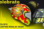 Casque AGV Pista GP R Rossi 20 years Replica
