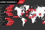 WSBK - Le calendrier 2018 publié