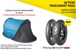 Une tente offerte à l'achat de Dunlop TrailSmart Max