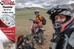 Moto Tour Series 2018 - David Zimmermann, rédacteur AcidMoto.ch, prêt à partir pour la Tunisie