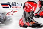 "Alpinestars présente ses Supertech R ""Mach1"" Maverick Viñales Replica"