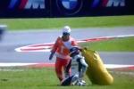 Moto2 à Sepang - Thomas Lüthi se fracture le pied - Le titre s'envole certainement définitivement