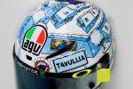 Le nouveau casque AGV Pista GP R de Valentino Rossi