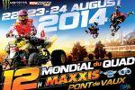 Mondial du Quad de Pont-de-Vaux (01) - Les 22, 23 et 24 août 2014