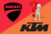 Le rouge Ducati pourrait passer au orange KTM selon Stefan Pierer