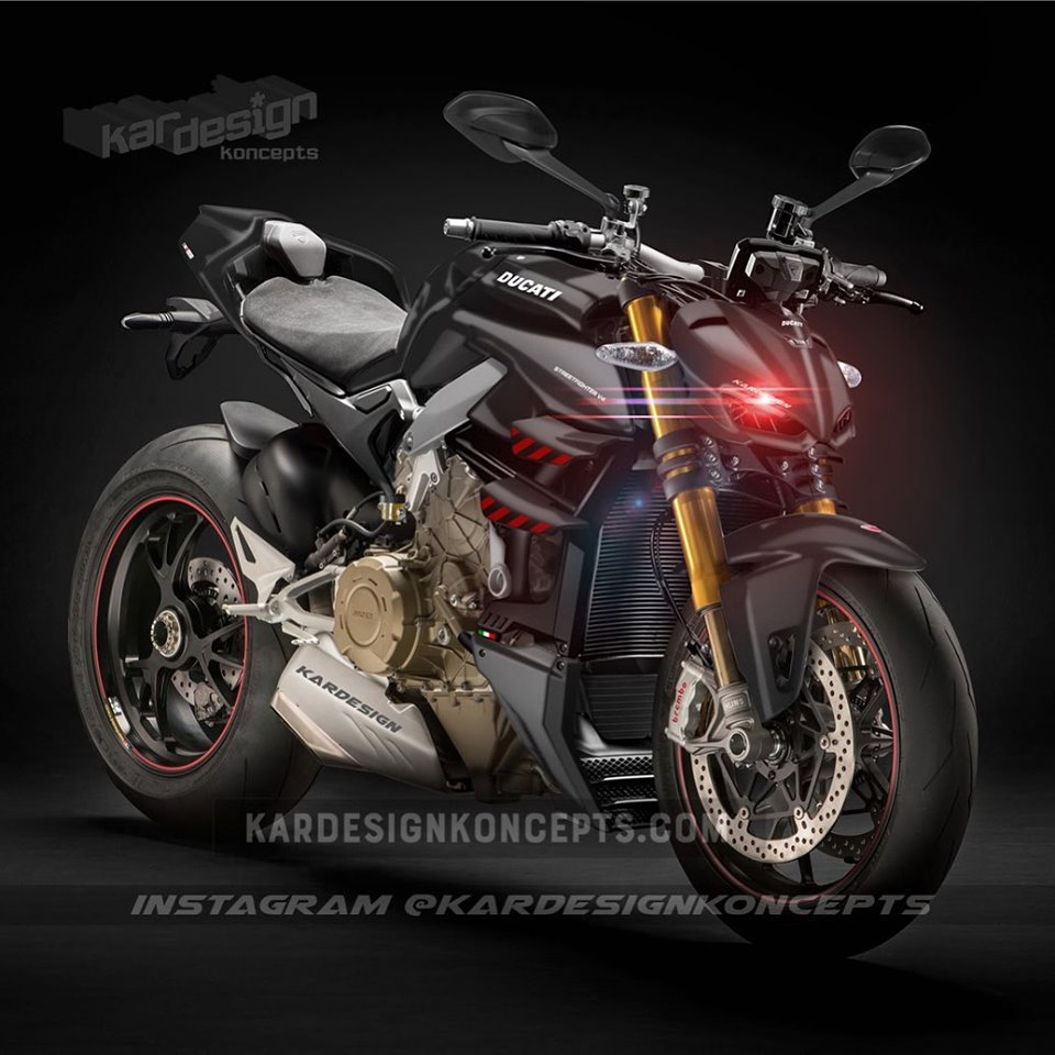 La Ducati Streetfighter V4 fait son show en vidéo ...