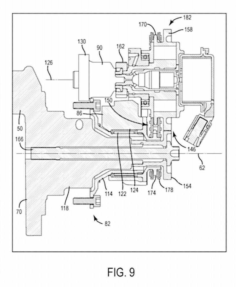 Calage variable et balancier d'équilibrage pour Harley-Davidson Harley-davidson-engine-balancer-patent-fig9_0