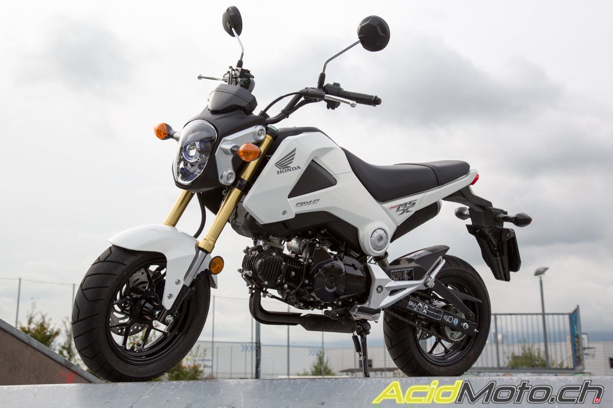 honda msx 125 grom retour vers le futur acidmoto. Black Bedroom Furniture Sets. Home Design Ideas