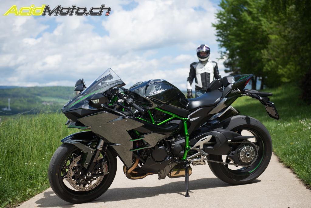 Essai Sur Route De La Kawasaki Ninja H2 Quel Monstre Acidmoto