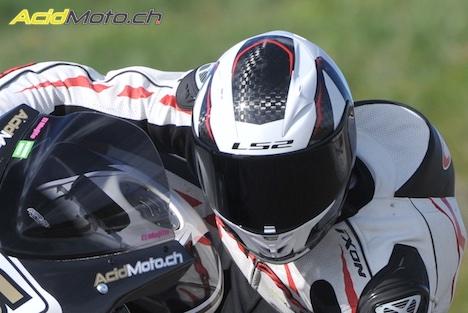 Essai Du Casque Ls2 Arrow C Ff323 Du Racing En Carbone à Prix
