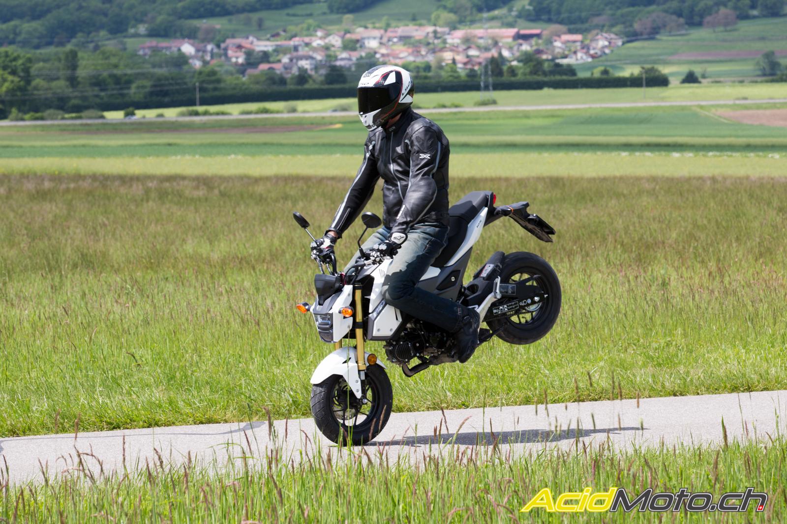 Essai Honda Msx 125 2016 Encore Et Toujours Du Fun