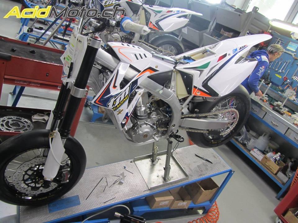 Visite De Lusine TM Racing