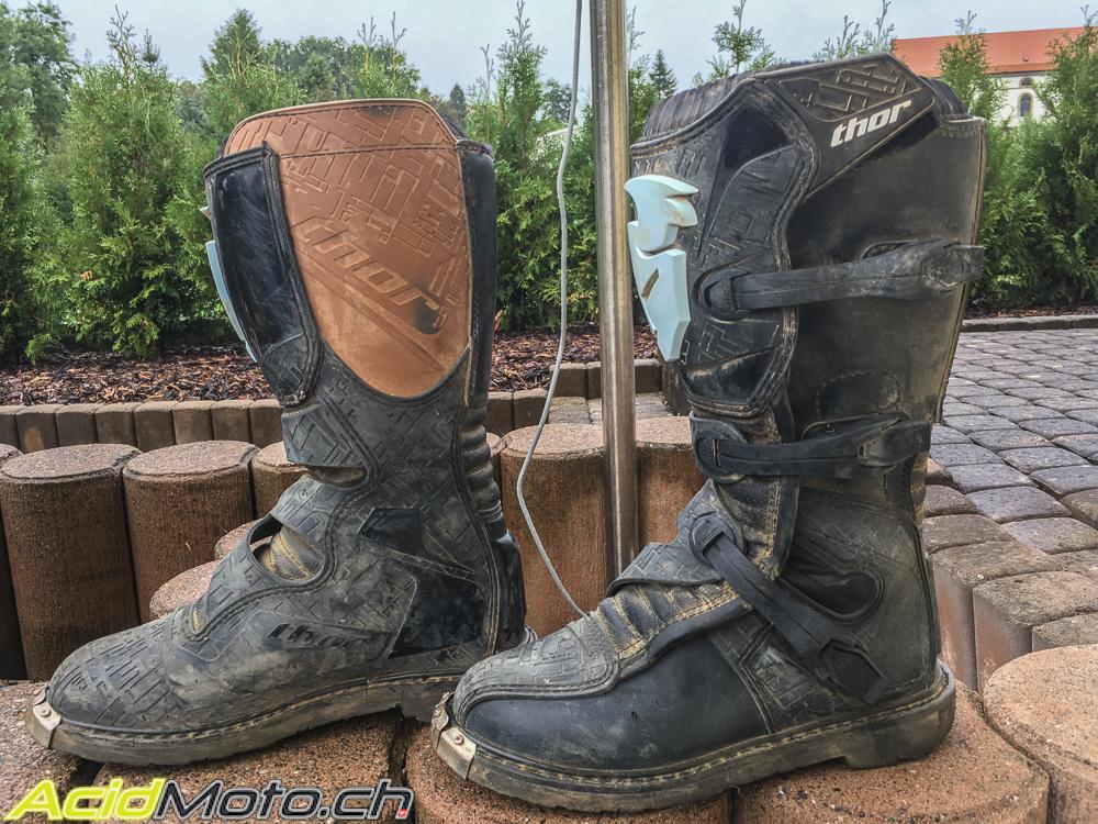 Essai Bottes Cross Thor Blitz Boots Du Neuf Au Prix De L