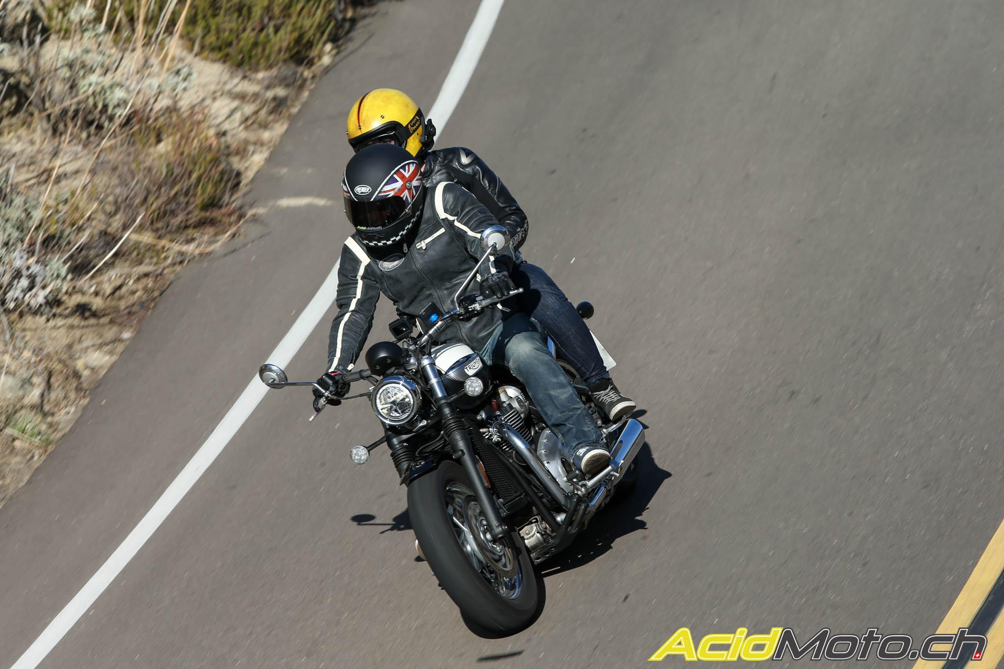 Essai Triumph Speedmaster La Bobber Façon Grand Tourisme