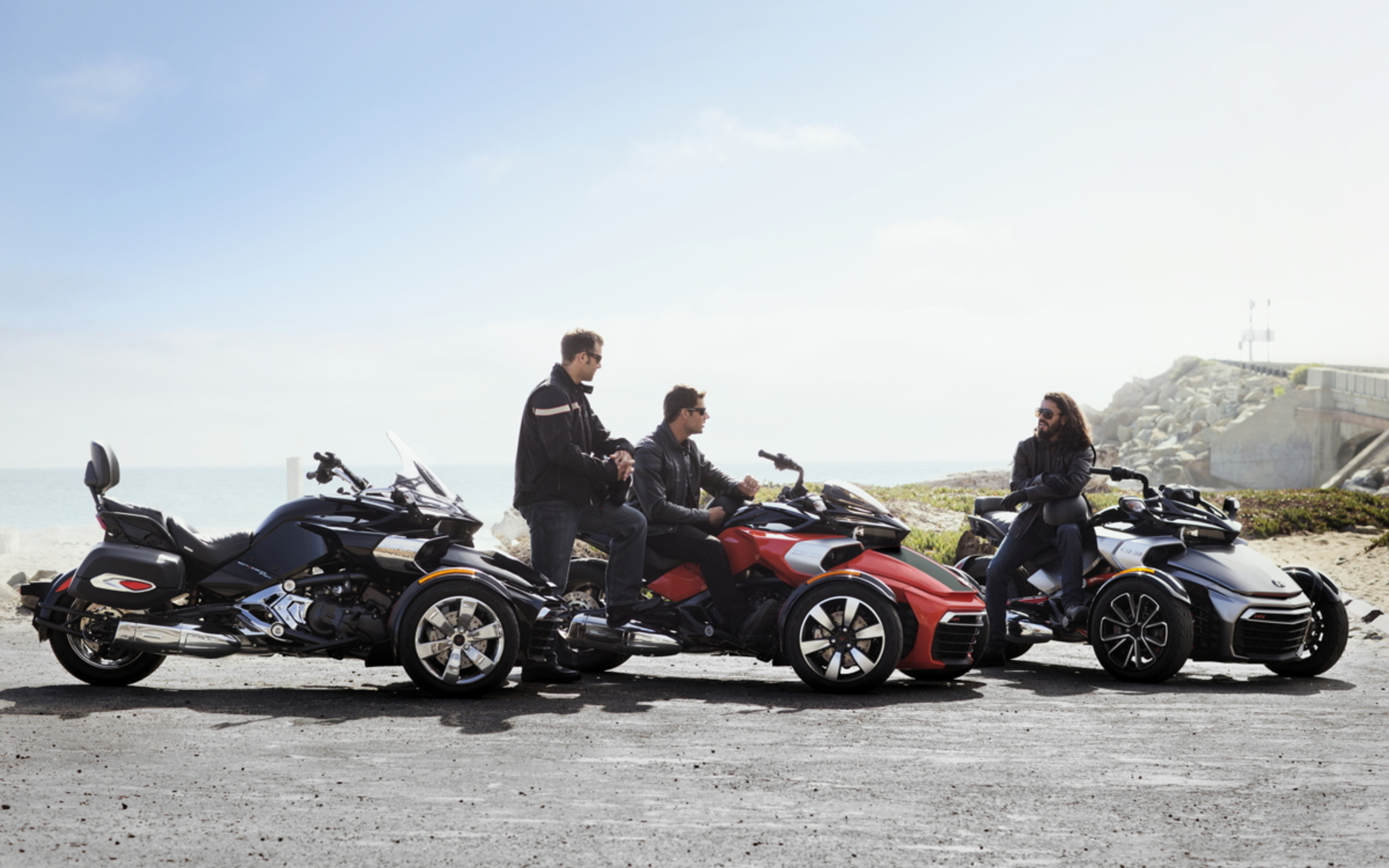 Can Am Spyder F3 Un Nouveau Tricycle Au Catalogue 2015
