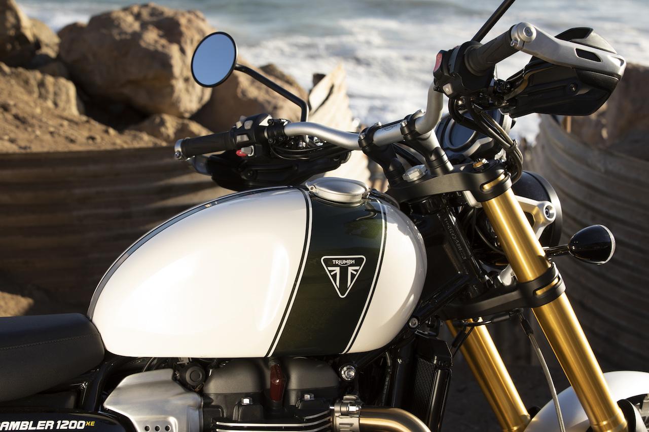 Triumph Scrambler 1200 Xc Et Xe Toutes Les Infos Et Les Photos