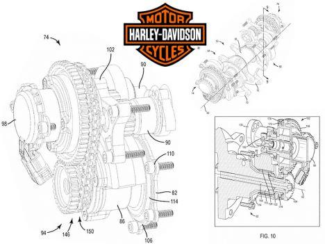 Calage variable et balancier d'équilibrage pour Harley-Davidson Harley-davidson-vvt_0