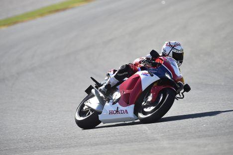 Honda RC213V-S Valencia Press Test Carrozza