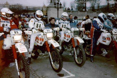 L'incroyable Dakar 84 de Renato Zocchi