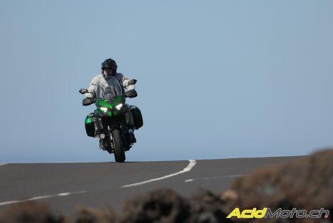 Essai Kawasaki Versys 1000 SE – La belle verte se replace dans la course
