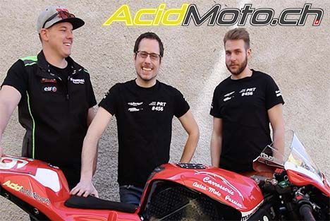 Interview vidéo du team d'endurance Pecable Racing Team #456