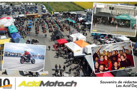 10 ans d'AcidMoto.ch - 6 éditions des Acid'Days (2013-2018)