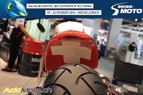 Salon Swiss-Moto 2015 - La rédaction en visite au salon de la moto - Vidéo et photos