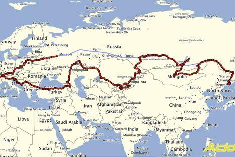 EuropAsia 2015 épisode 1 - La préparation du voyage et le trajet jusqu'à Vladivostock