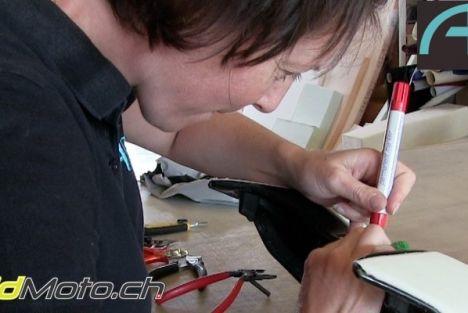 Partez à la découverte de l'atelier AP Sellerie à Genève - Le confort à moto comme priorité