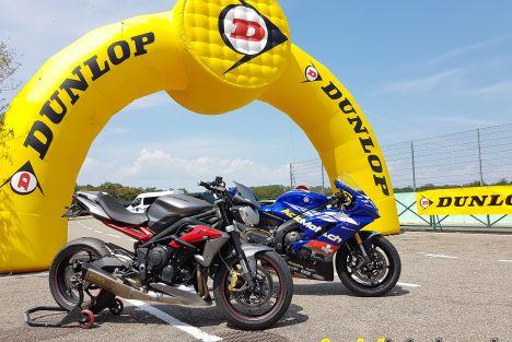 Essai Dunlop Sportsmart TT - Compromis radical