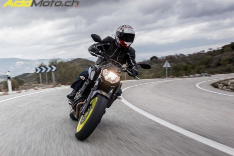 Essai Yamaha MT-07 2018 - L'upgrade de suspensions qu'il lui fallait