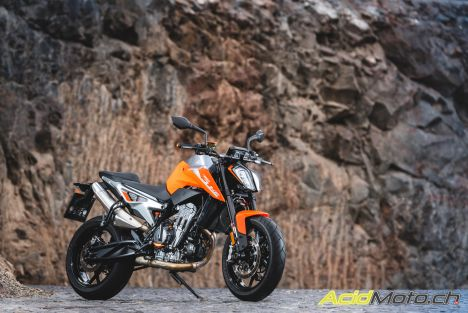 Essai KTM 790 Duke 2018 - Attention tranchant !