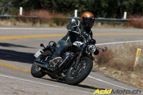 Essai Triumph Speedmaster - La Bobber façon grand tourisme