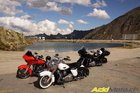 Road trip - Trois Harley-Davidson dans l'Oberland bernois