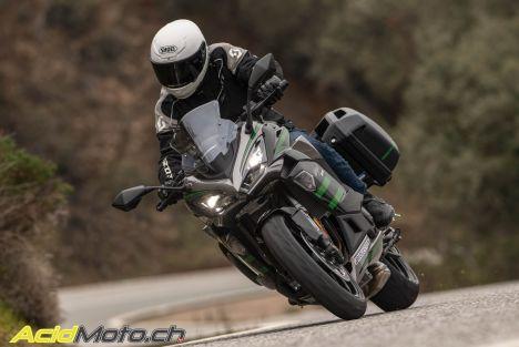 Essai Kawasaki Ninja 1000SX - Quand sport et confort font bon ménage
