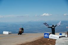 Pikes Peak et la moto c'est fini