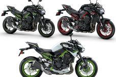 Nouvelles couleurs pour la Kawasaki Z900 2021