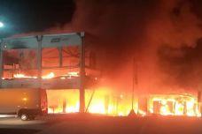 Incendie catastrophe pour le MotoE - 18 machines détruites et saison compromise