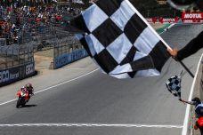 WSBK à Laguna Seca course 2 - Chaz Davies remporte sa première victoire de l'année