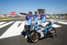 24 Heures Motos - La BMW #6 du team ERC BMW Motorrad Endurance s'offre la pole position