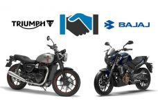 Bajaj et Triumph débute ce jour un partenariat mondial