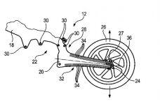 BMW dépose un brevet de châssis et bras oscillant en une pièce !