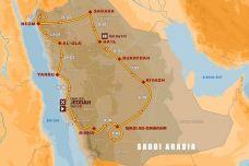 Voici le roadbook du Dakar 2021, COVID ou pas
