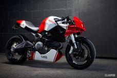 Ducati Monster 659 EB616 by Ellaspede - Une moto pour VR46