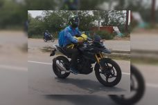Des BMW 310cc version 2021 en test en Inde ?