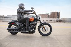 En 2021, les Harley-Davidson Street Bob et Fat Boy reçoivent le moteur Milwaukee-Eight 114