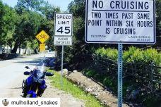 """Un juge californien interdit de """"cruiser"""" sur une route"""