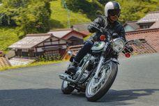 Kawasaki présente sa nouvelle W800 en hommage à la W1 de 1966